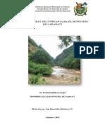 Plan de Manejo de Cuencas Municipio Caranavi