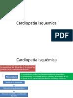 Cardiopatía Isquemica - Copia