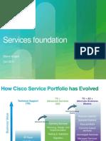 Cisco Services Foundation for SORT v1.0
