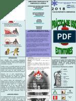 TRIPTICO-Practicas de Uso y Manejo de Extintores e Hidrantes y Tecnicas de Arrastre 2009.pdf
