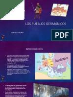 Los Pueblos Germánicos