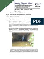 Informe Nº 018