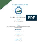 Culture Francophone 6