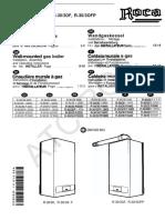 Manual Instrucciones r303 30 Op of Ofp