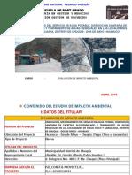 AMPLIACION, MEJORAMIENTO DEL SERVICIO DE AGUA POTABLE, DISPOSICIÓN SANITARIA DE EXCRETAS, ALCANTARILLADO Y TRATAMIENTO DE AGUAS RESIDUALES EN LAS LOCALIDADES DE TINGO CHICO Y GARACASHA, DISTRITO DE CHUQUIS - DOS DE MAYO –HUANU