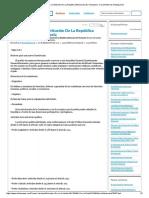 Estructura de La Constitución de La República Bolivariana de Venezuela - Documentos de Investigación