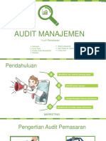 Audit Pemasaran