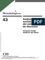 Análisis Sociológico Del Sistema de Discursos (Col... ---- (Pg 2--111)