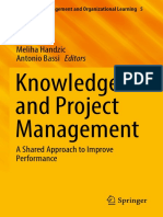 Meliha Handzic, Antonio Bassi Eds. Knowledge and Project Management a Shared Approach to Improve Performance