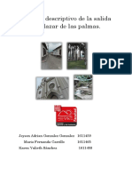Informe Imprimridescriptivo de La Salida a Salazar de Las Palmas