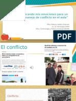 Conflicto en el aula -Educando mis emociones.pptx