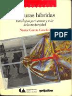 Culturas Hibridas. García Canclini.