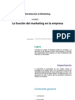 U1_La Función Del Marketing en La Empresa