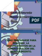 complemento Mantenimiento