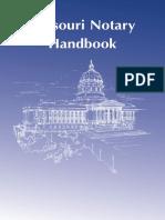Missouri Notary Handbook