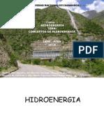 Conceptos de Hidroenergia