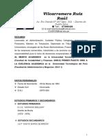 MODELO DE CURRICULUM VITAE MODERNO