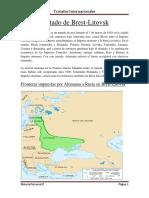 Tratados Internacionales Primera Guerra Mundial