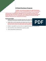 GSSF Pistol Purchase Program Information