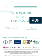 digital marketing performance portfolio  4