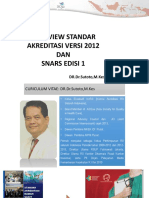 Overview Standar Akreditasi Snars Ed1-3