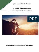 Estudo de Eavangelismo ç
