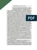 Conceptos Basicos de Matematica Financiera