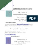 Cilindro y Circunferencia