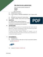 Informe Practica de Laboratorio Lidia