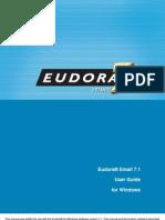 Eudora 71 User Manual