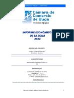 Informe Economico de La Zona 2014 Completo