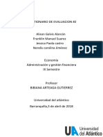 Administracion y Gestion Financiera