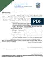 ESC - 2011 - COMUNICADO 1 -Primer Gabinete Estudiantil
