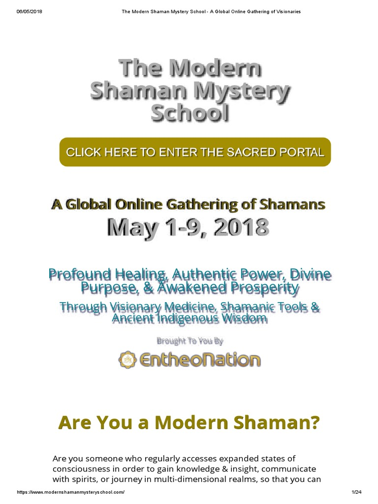 SMS - Shaman pdf | Shamanism | Ayahuasca