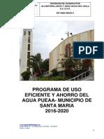 Pueaa Santa Maria 2016 - 2020