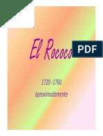 El Rococó - Presentación