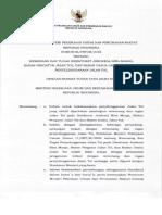 Permen PUPR No 06 PRT M 2018 Tentang Penyelenggaraan Jalan Tol