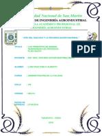 14 principios y reingeniería. Sistema HACCP..docx