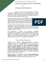Guia Bibliográfico para Exegese do Novo...to - Prof. Isaías Lobão Pereira Júnior.pdf