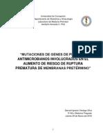MUTACIONES DE GENES DE PÉPTIDOS ANTIMICROBIANOS INVOLUCRADOS EN EL AUMENTO DE RIESGO DE RUPTURA PREMATURA DE MEMBRANAS PRETÉRMINO.docx