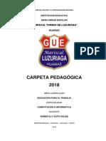 Carpeta Romer Quito Rojas - 2018