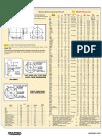 NEMA Guidelines - Motor Dimensional Chart