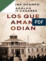 Los Que Aman, Odian - Adolfo Bioy Casares