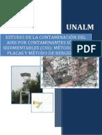 ESTUDIO DE LA CONTAMINACIÓN DEL AIRE POR CONTAMINANTES SÓLIDOS SEDIMENTABLES (CSS)
