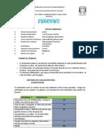 Lineamientos Metodología III. 2008.2