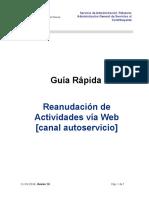 IdC Reananudacion Act