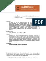 Navarro () Epicuro y Aristoteles, dos modelos para pensar la phylia.pdf