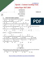 Padasalai Nets 10th Maths Centum Coaching Team Question Paper f