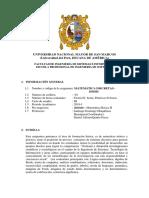 SILABO Matemáticas Discretas 2018-I.docx