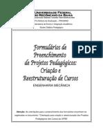 Projeto Pedagogico Engenharia Mecanica